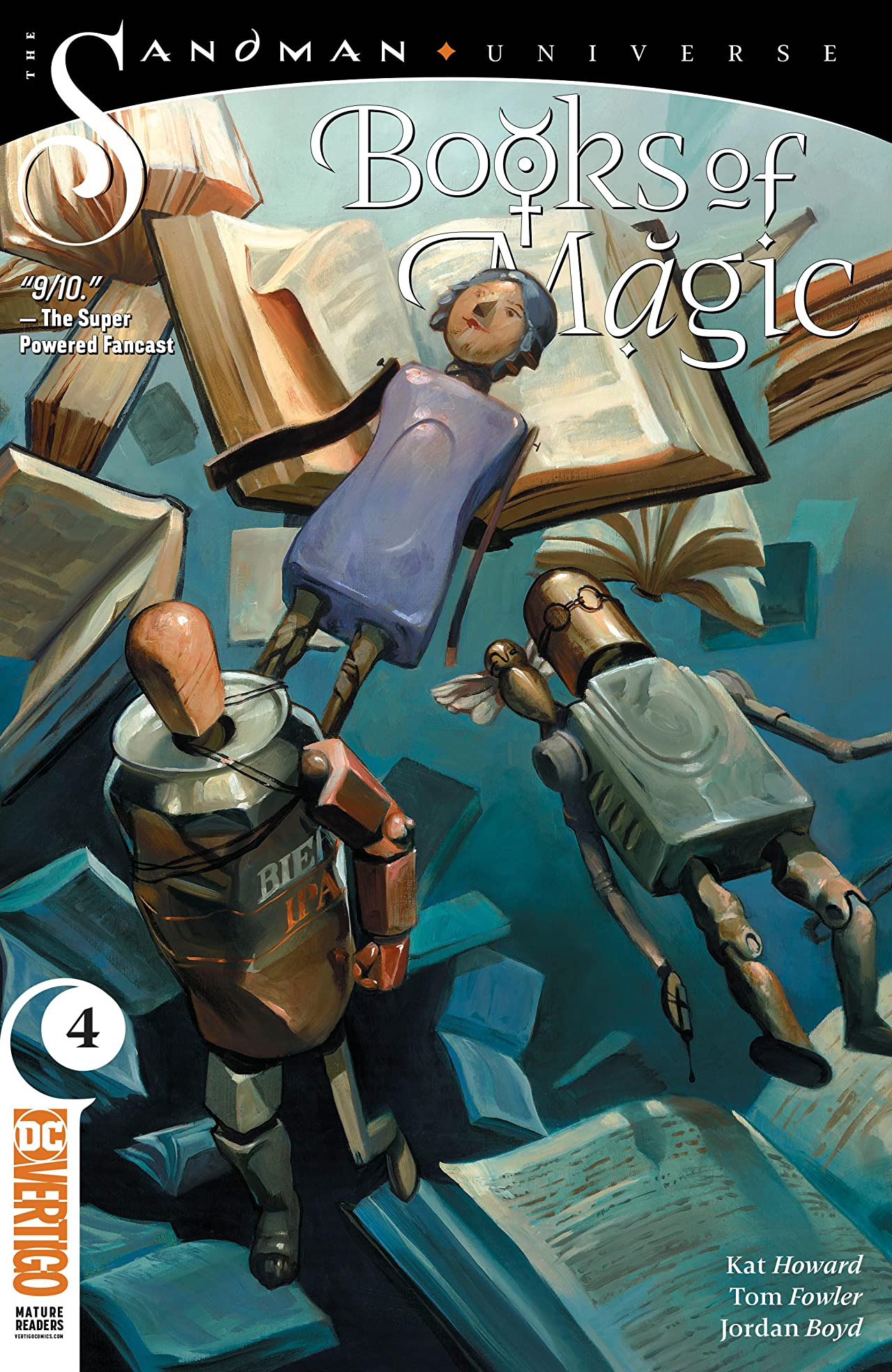 Books of Magic (2018-) No.4