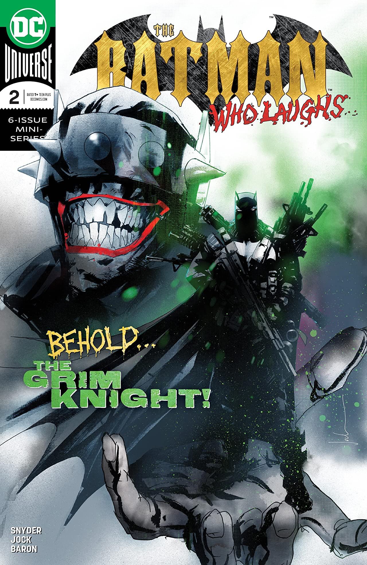 The Batman Who Laughs (2018-) No.2