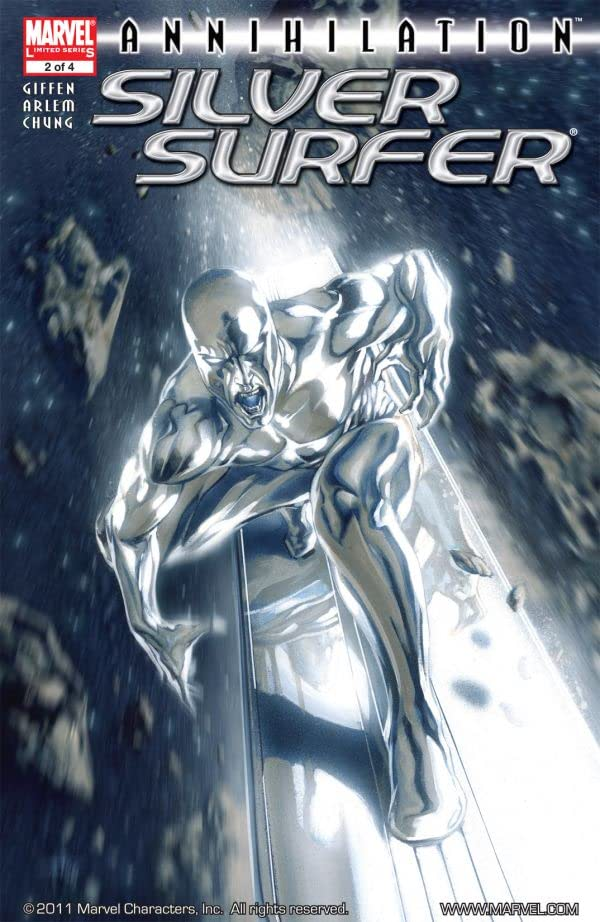 Annihilation: Silver Surfer #2