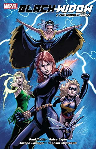 Black Widow and the Marvel Girls