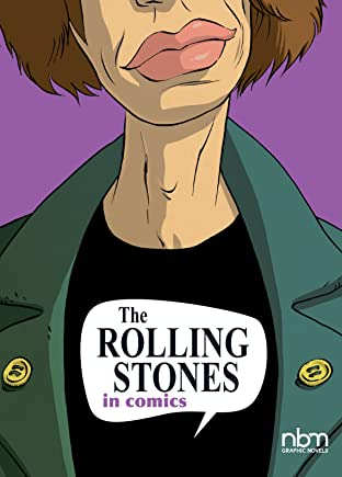 The Rolling Stones in COMICS