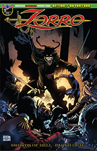 Zorro: Swords of Hell #2
