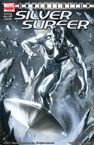 Annihilation: Silver Surfer #4 (of 4)