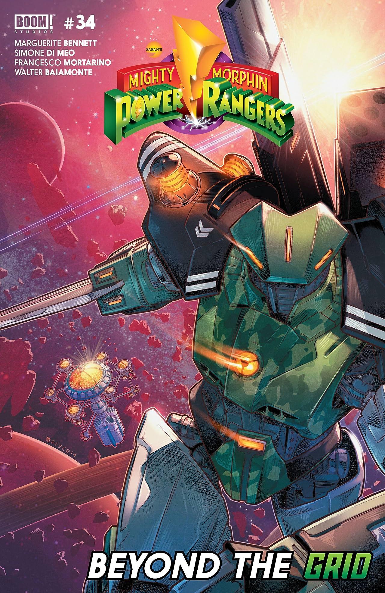Mighty Morphin Power Rangers No.34