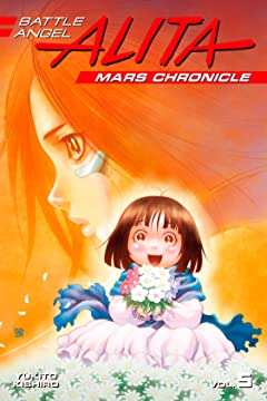 Battle Angel Alita Mars Chronicle Vol. 5