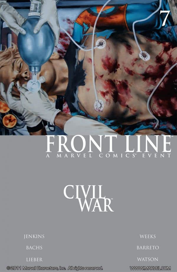 Civil War: Front Line #7 (of 11)