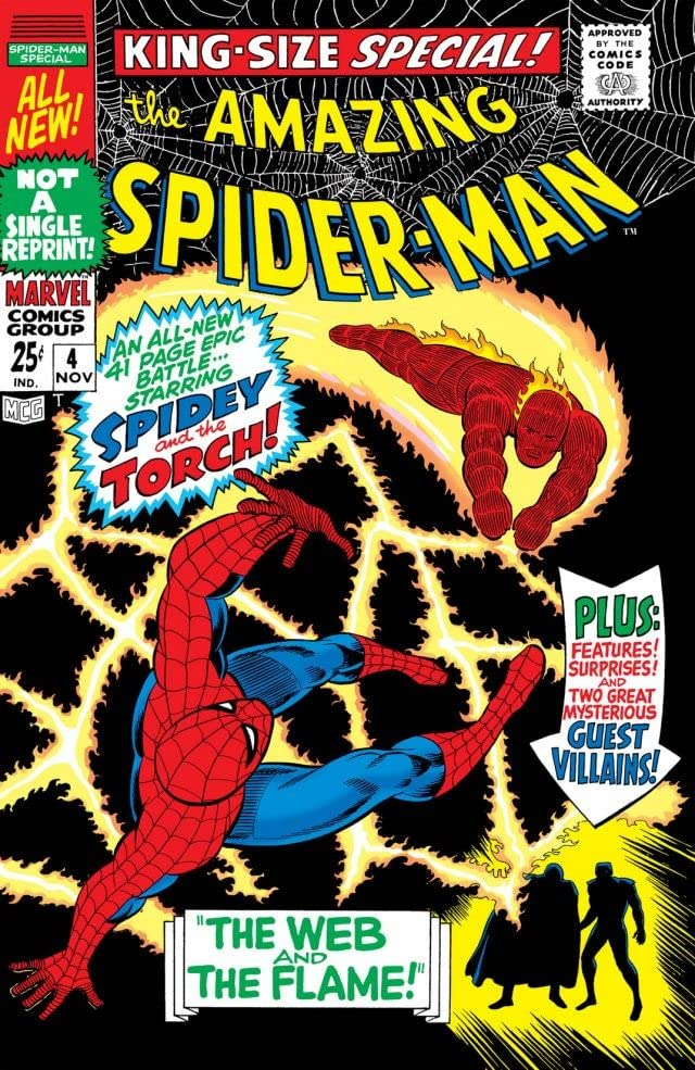 Amazing Spider-Man (1963-1998) Annual #4