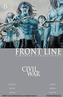 Civil War: Front Line #8 (of 11)
