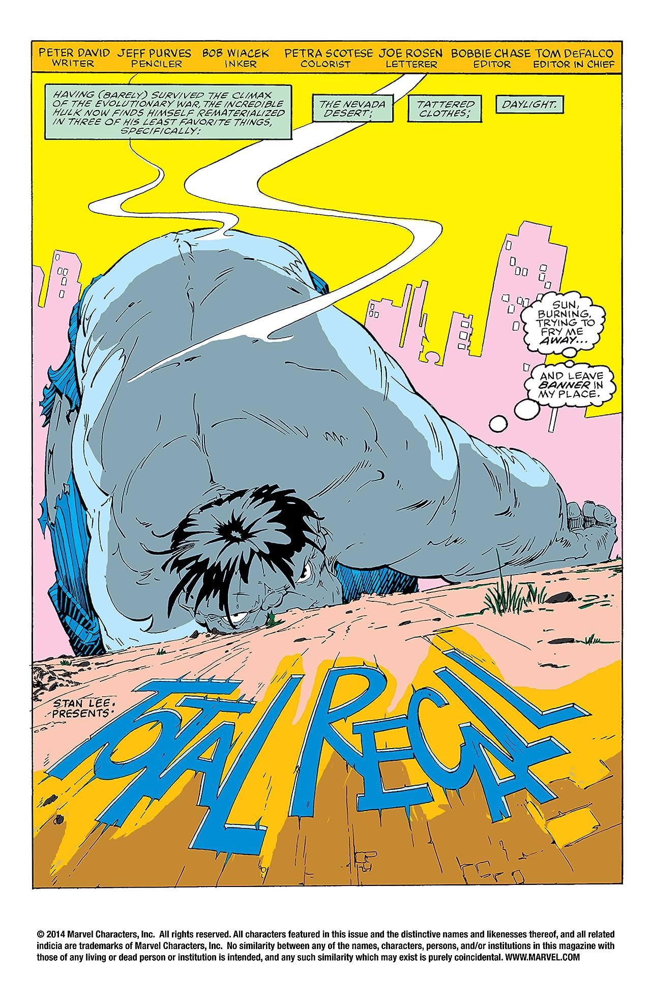 Incredible Hulk (1962-1999) #351