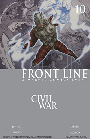Civil War: Front Line #10 (of 11)