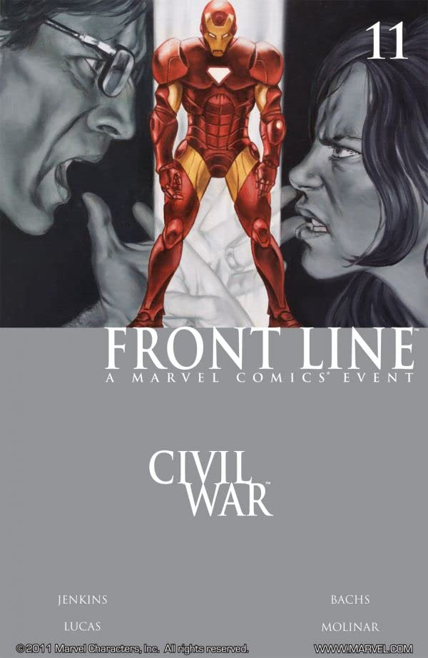 Civil War: Front Line #11 (of 11)