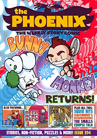 The Phoenix #354 & 355: The Weekly Story Comic
