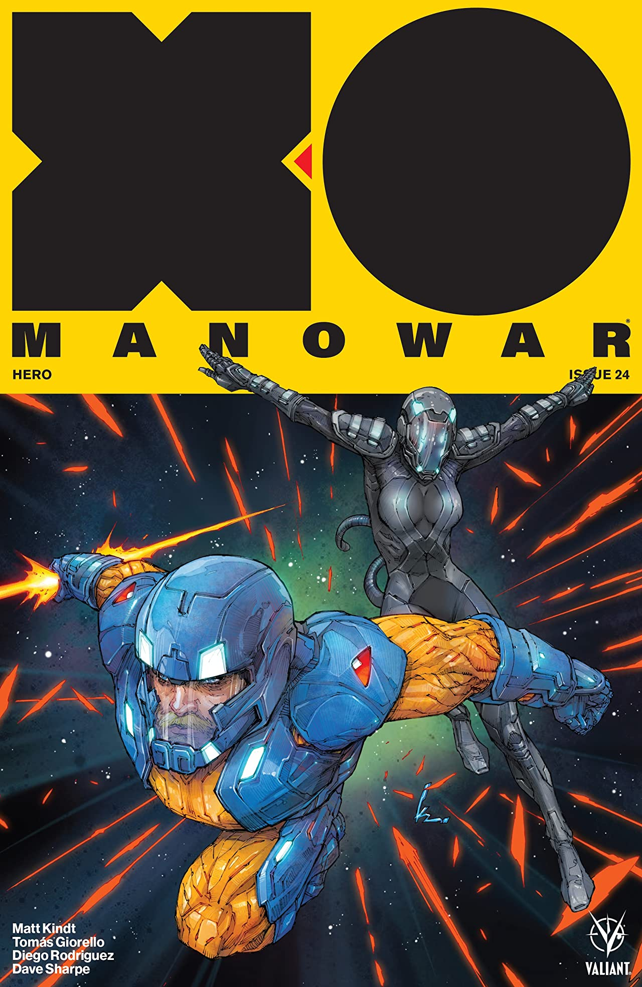 X-O Manowar (2017) No.24