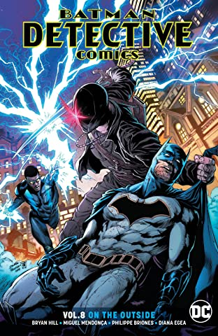 Batman - Detective Comics (2016-) Vol. 8: On the Outside