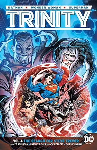 Trinity (2016-) Tome 4: The Search for Steve Trevor