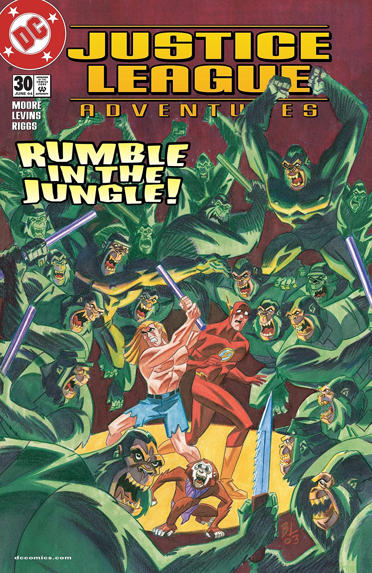 Justice League Adventures (2001-2004) #30