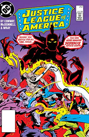 Justice League of America (1960-1987) #252