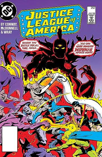 Justice League of America (1960-1987) #252