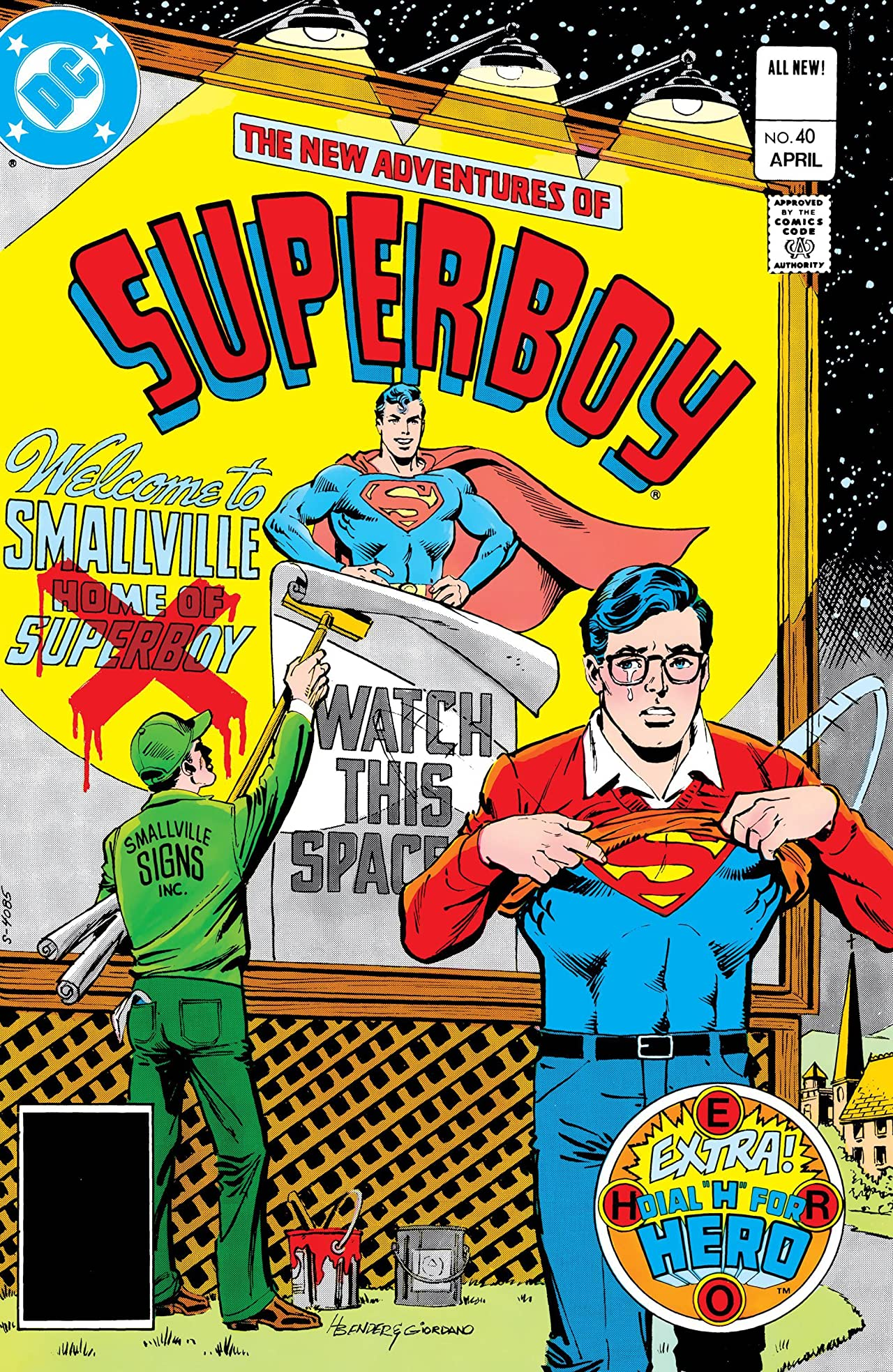 New Adventures of Superboy (1980-1984) #40