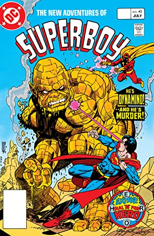 New Adventures of Superboy (1980-1984) #43