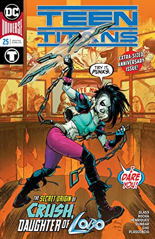 Teen Titans (2016-) #25