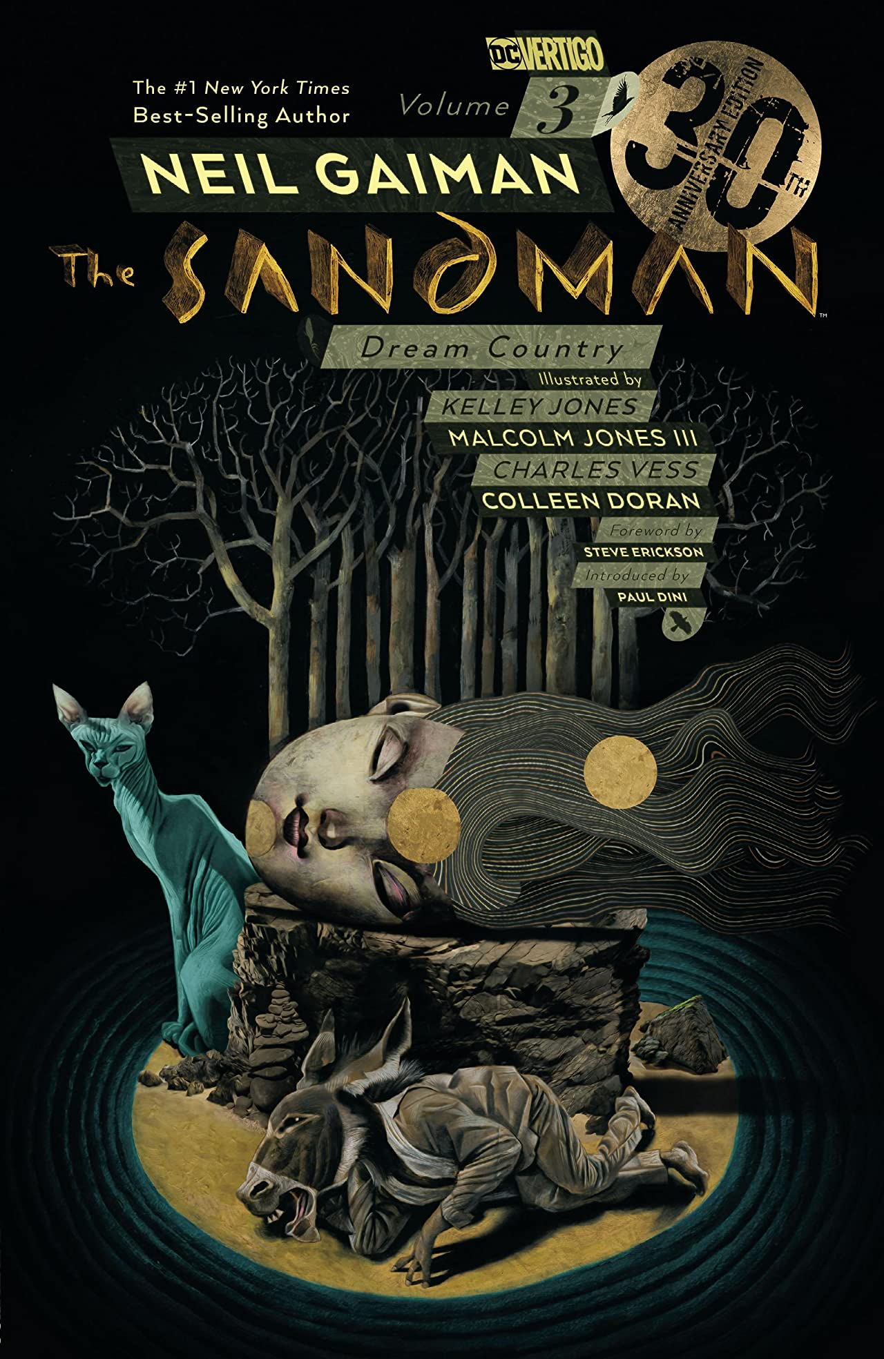 Sandman Vol. 3: Dream Country - 30th Anniversary Edition
