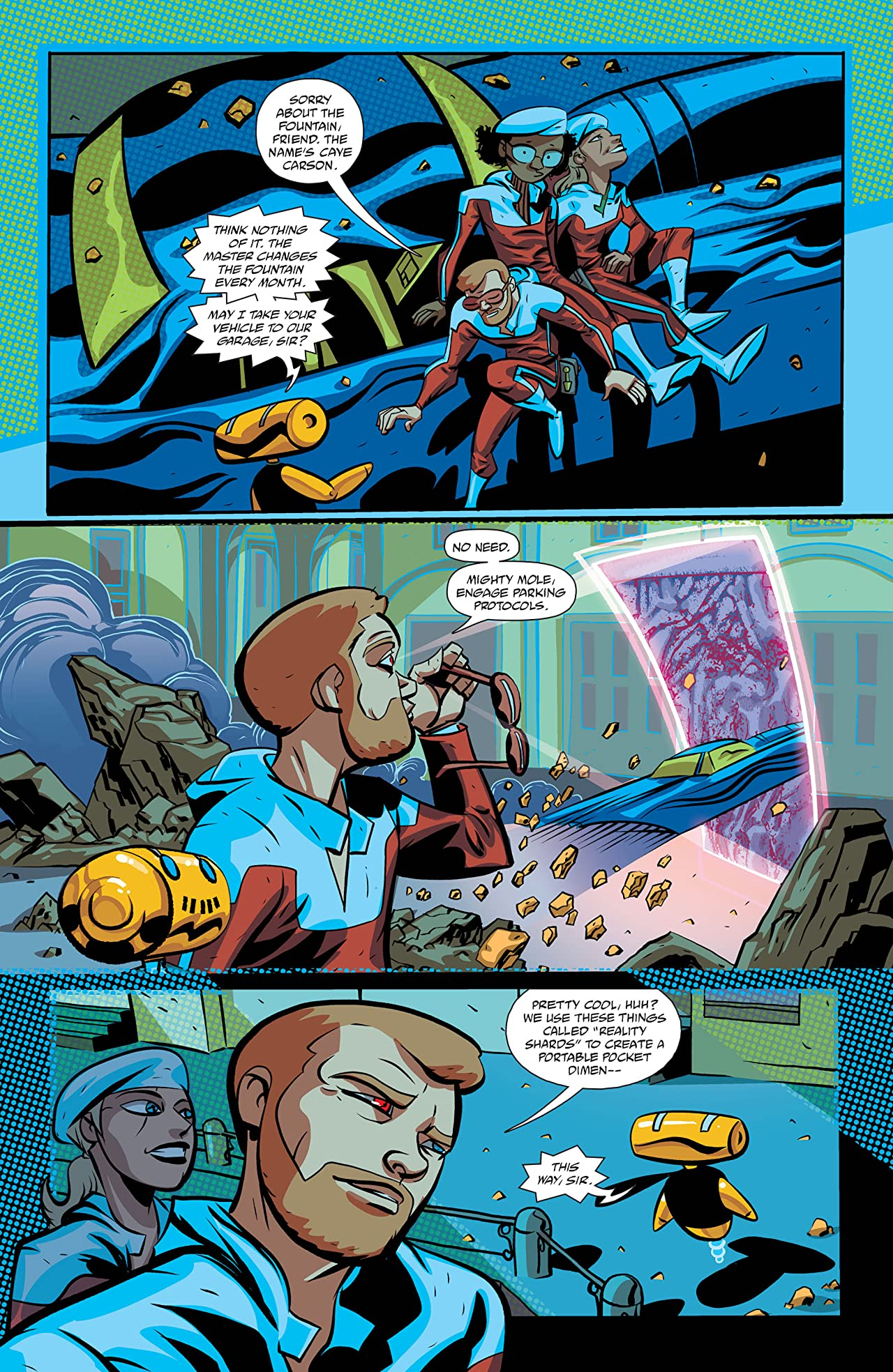 Cave Carson Has an Interstellar Eye (2018)