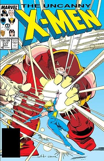 Uncanny X-Men (1963-2011) #217