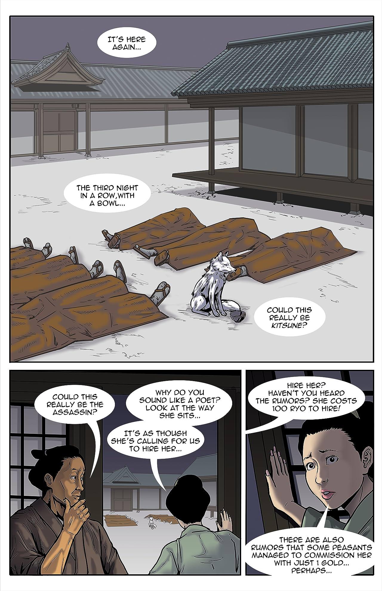 Kitsune: Assassin For Hire #13