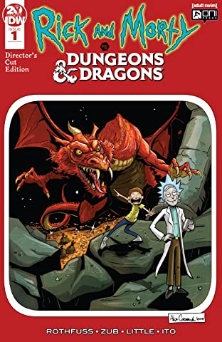 Rick and Morty vs. Dungeons & Dragons No.1: Director's Cut