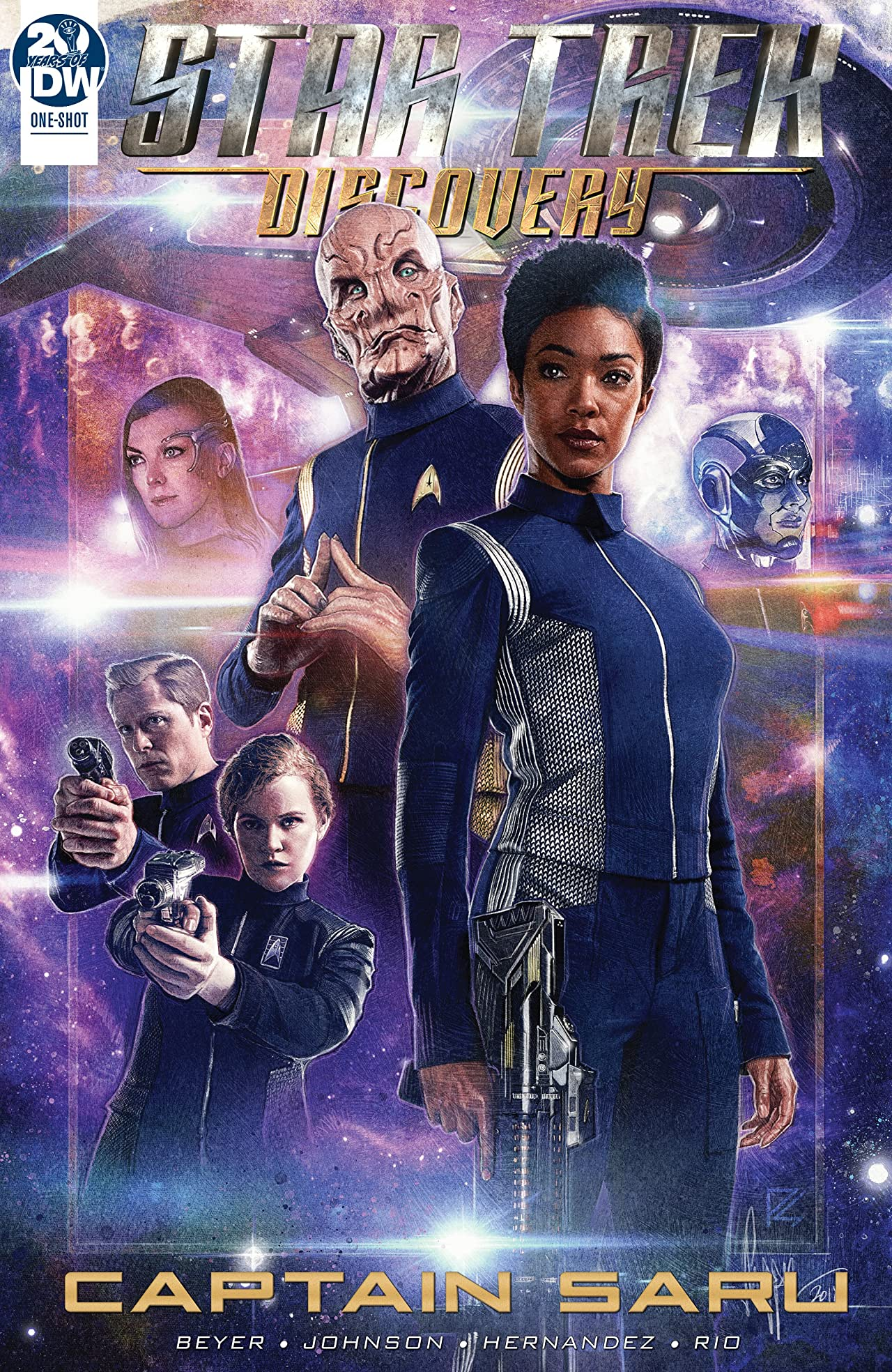 Star Trek: Discovery Annual 2019—Captain Saru