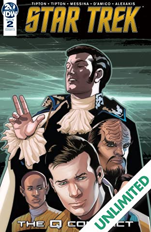 Star Trek: The Q Conflict #2 (of 6)
