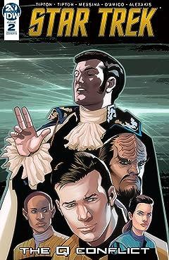 Star Trek: The Q Conflict #2 (of 6)