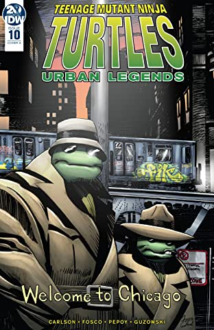Teenage Mutant Ninja Turtles: Urban Legends #10