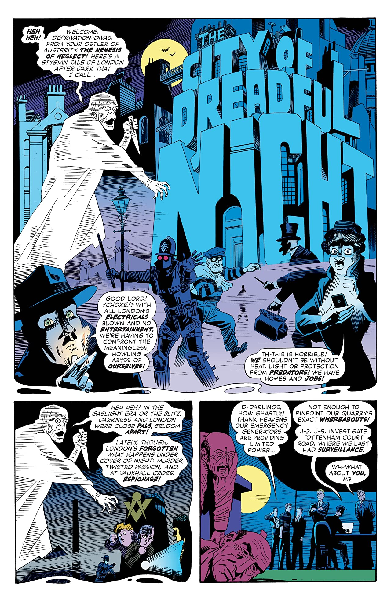 The League of Extraordinary Gentlemen: The Tempest #5 (of 6)
