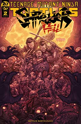 Teenage Mutant Ninja Turtles: Shredder in Hell #2 (of 5)