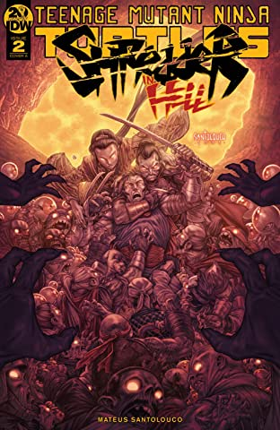 Teenage Mutant Ninja Turtles: Shredder in Hell No.2 (sur 5)