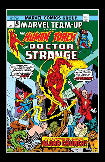 Marvel Team-Up (1972-1985) #35
