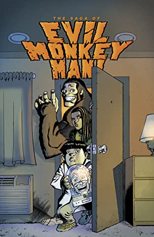 The Saga of Evil Monkey Man! #3