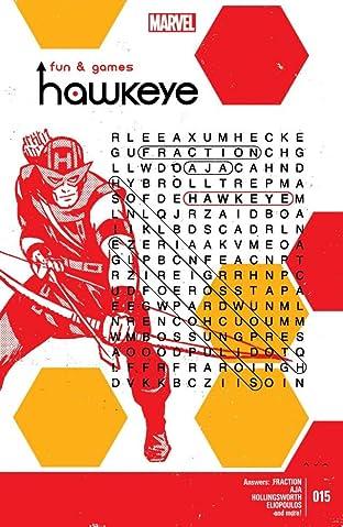 Hawkeye (2012-2015) No.15