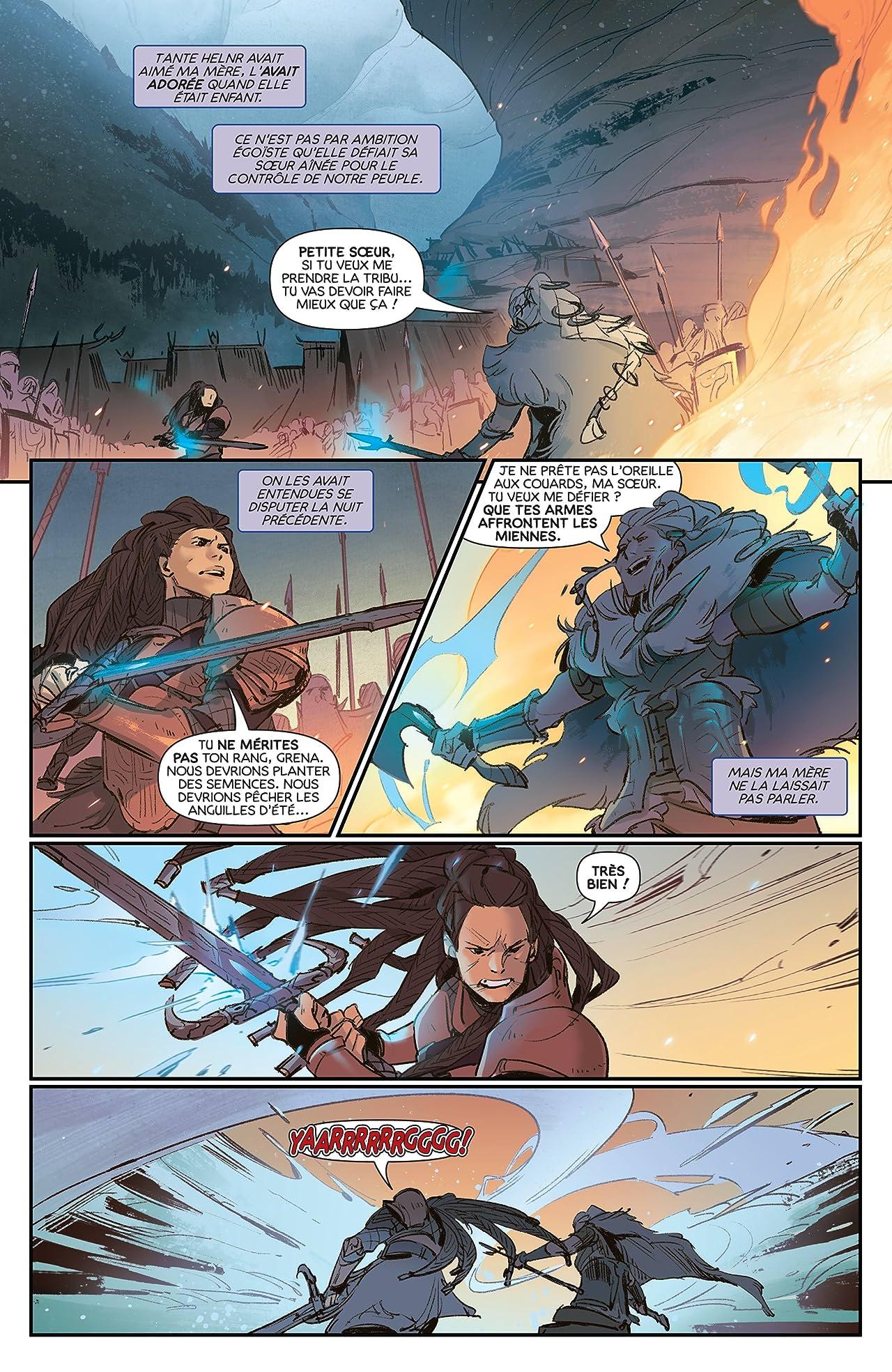 League of Legends, Ashe : Chef De Guerre Special Edition (French) No.1 (sur 4)