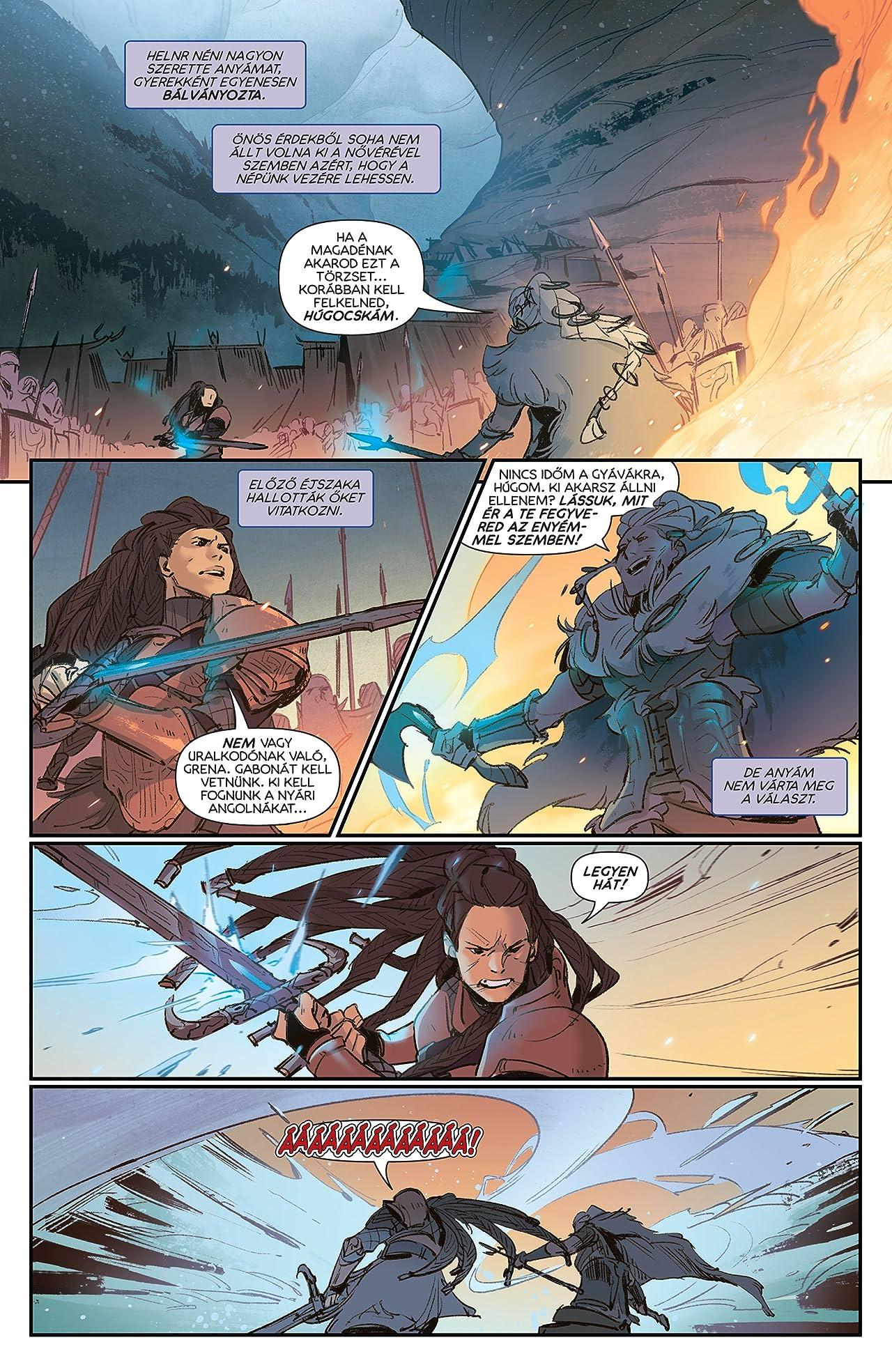 League of Legends: Ashe: A Hadfőnök Képregénysorozat Gyűjteménye Special Edition (Hungarian) #1 (of 4)