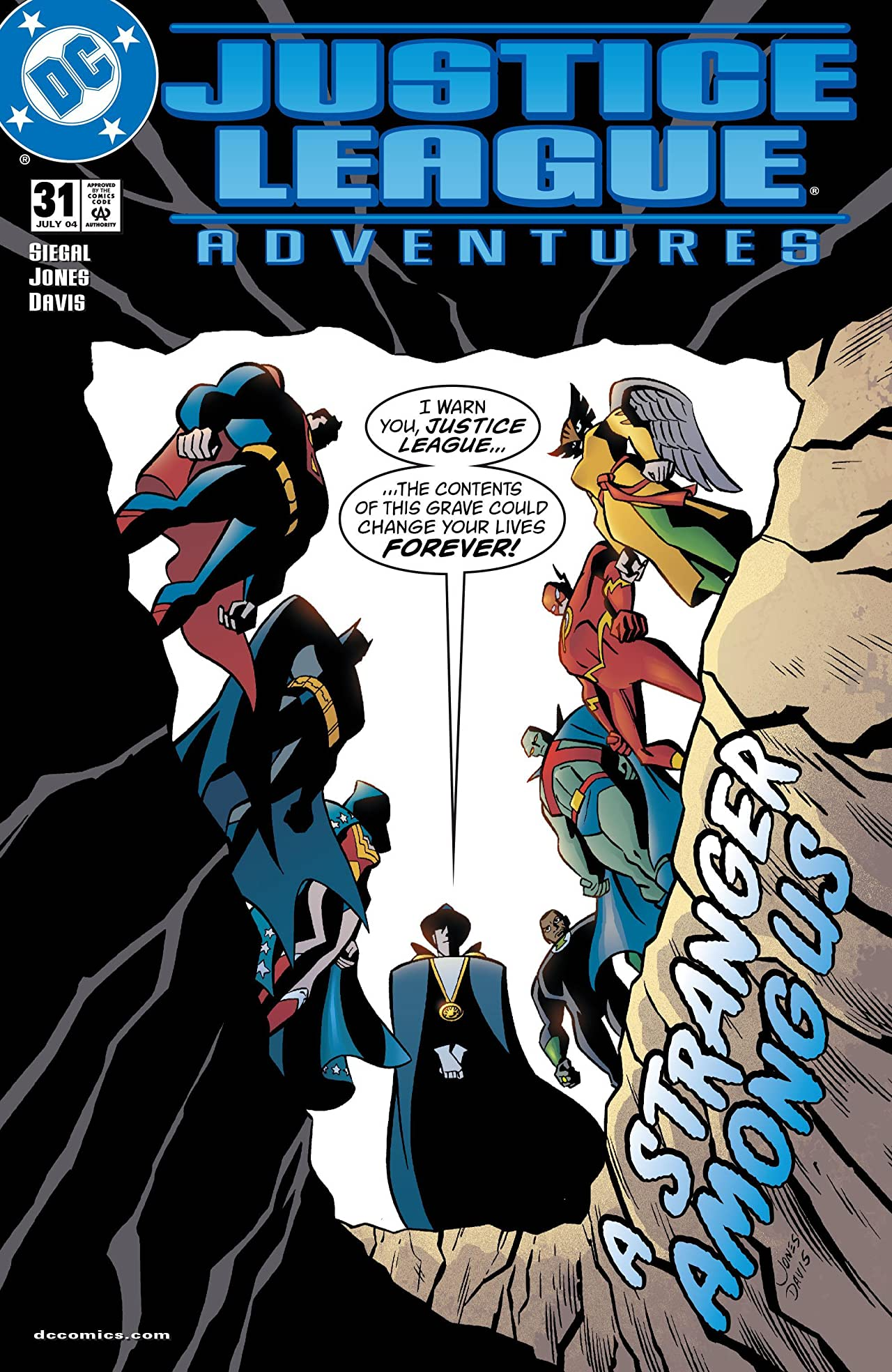 Justice League Adventures (2001-2004) No.31