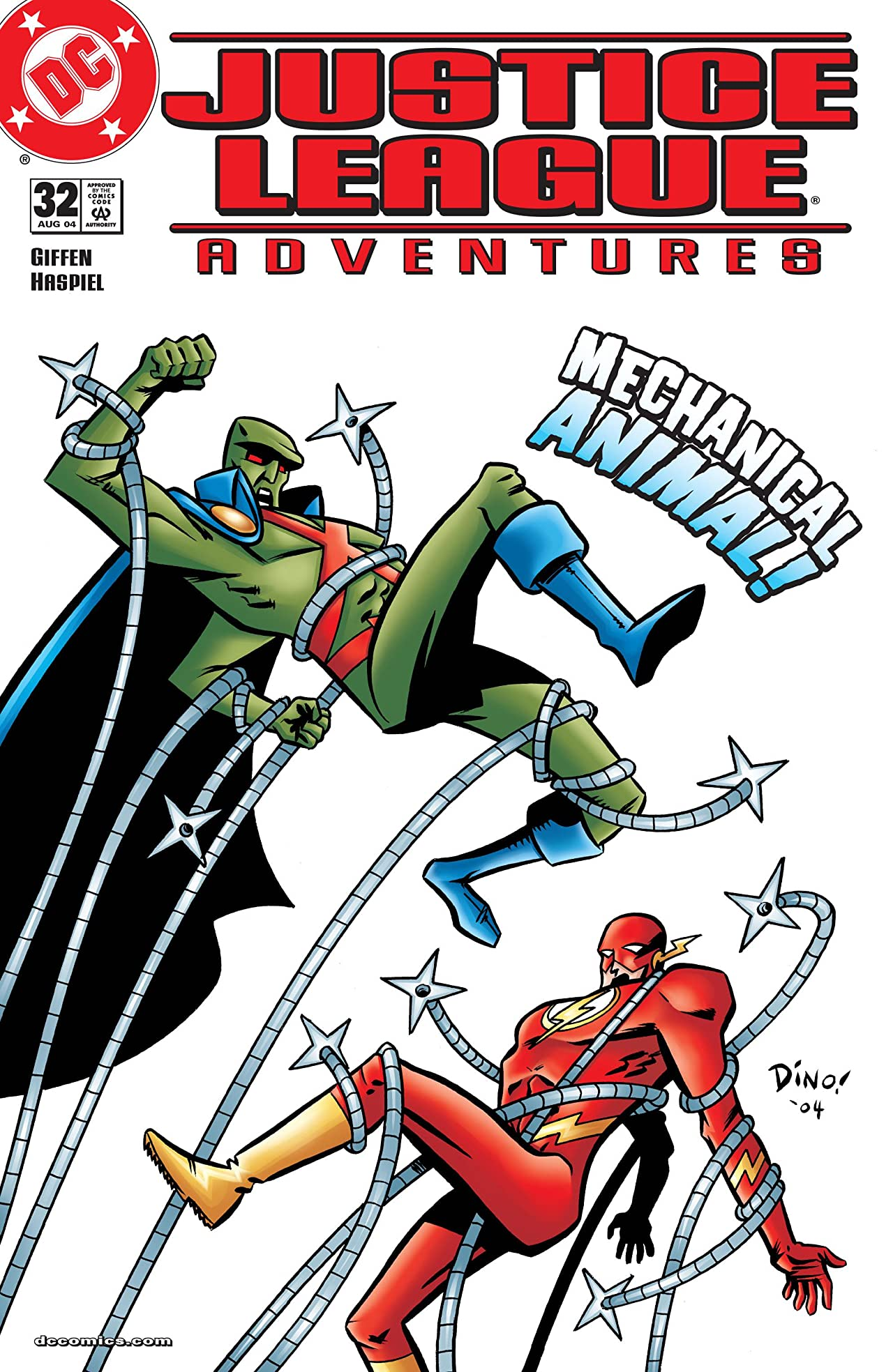 Justice League Adventures (2001-2004) No.32