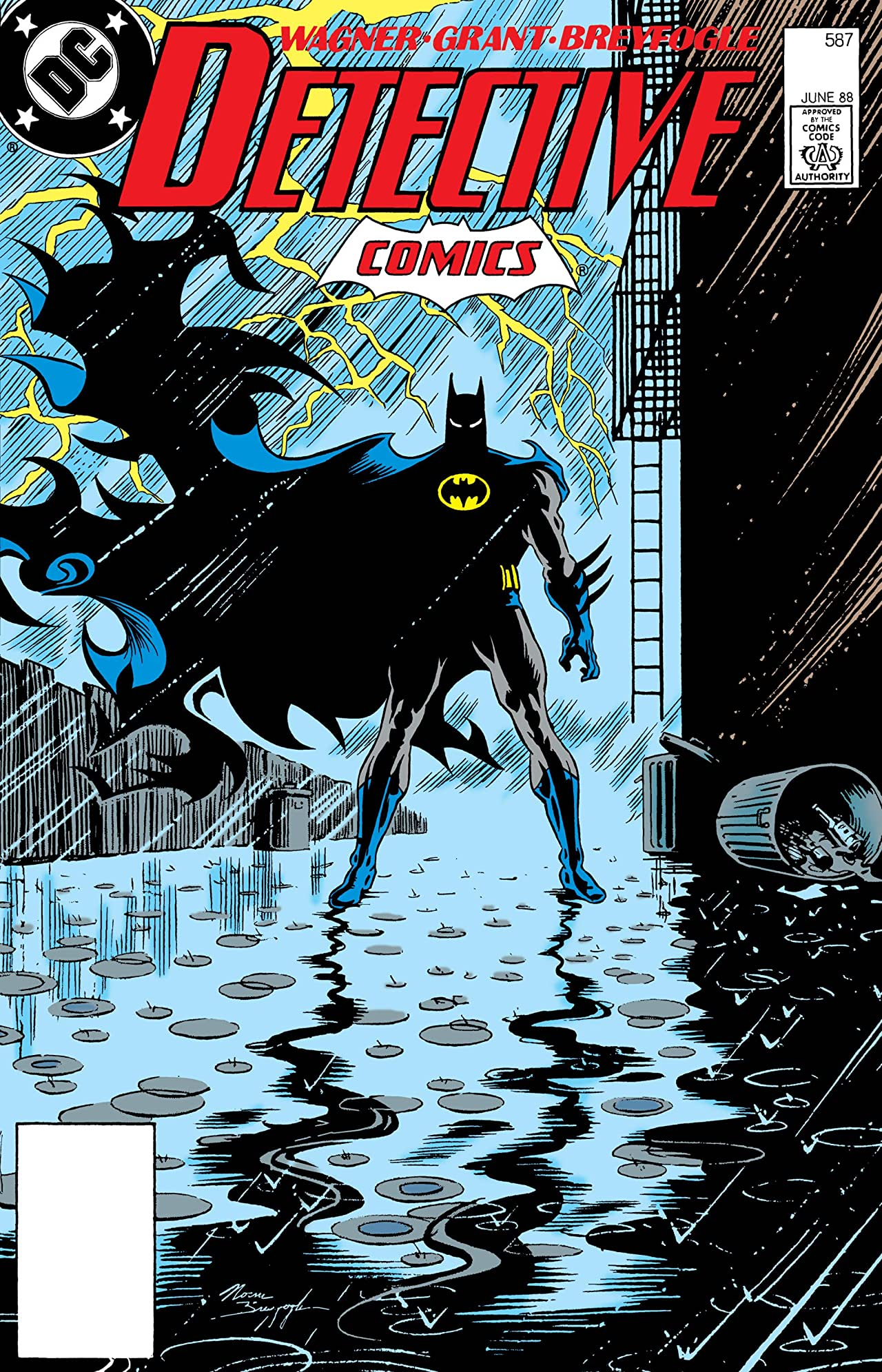 Detective Comics (1937-2011) #587