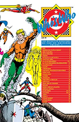 Who's Who: The Definitive Directory of the DC Universe (1985-1987) #1