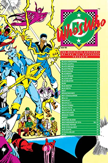 Who's Who: The Definitive Directory of the DC Universe (1985-1987) #3