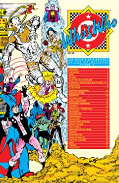Who's Who: The Definitive Directory of the DC Universe (1985-1987) #5