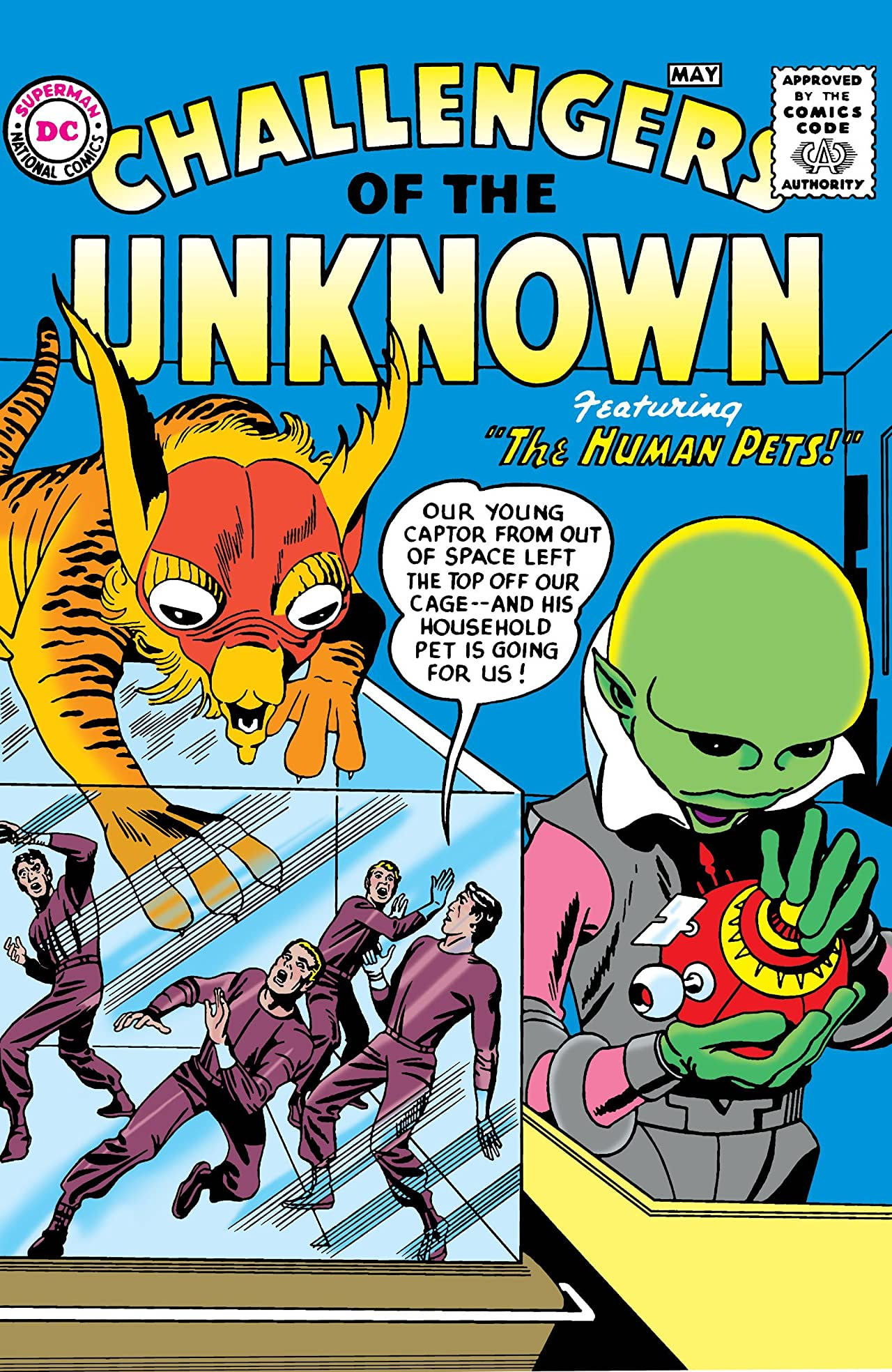 Challengers of the Unknown (1958-1978) No.1