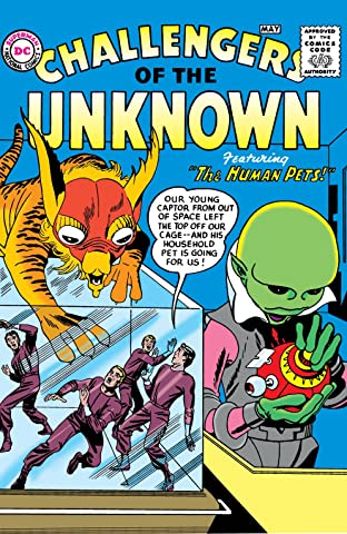 Challengers of the Unknown (1958-1978) #1